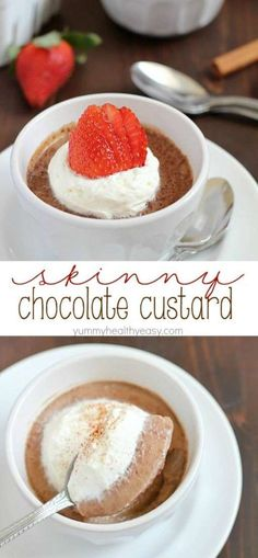 Easy Chocolate Custa
