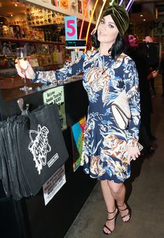 Gwyneth Paltrow, Katy Perry, Johnny Depp, and Ringo Starr Step Out for Stella McCartney's Pre-Fall Collection | InStyle.com