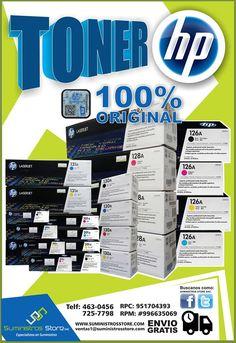 Somos Suministros Store tu tienda de Toners y Tintas para tu impresora!