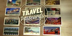 Travel Postcards — AE Template #tourism #travel • See it in action → https://videohive.net/item/travel-postcards/4835059?ref=pxcr