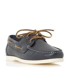 Howick Baltic sea boat shoes, Navy