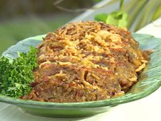 Bacon Cheeseburger Meatloaf recipe from Paula Deen via Food Network
