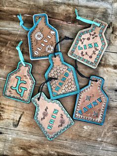 Purse tags by ArteVae