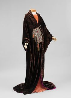 """Paris"" - 1919 silk, wool, metallic thread   Paul Poiret (1879–1944)"