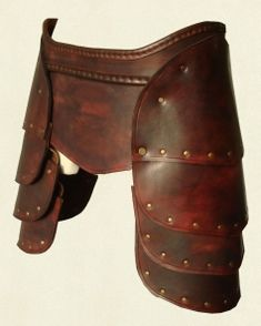 Leather Tassets @ battle-ready.com