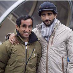 Saeed MJM y su sobrino Hamdan MRM