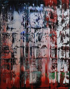 Abstract painting by Jakob Weissberg, 2011, oil on canvas, 100x80cm