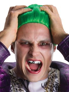 Check out Suicide Squad the Joker Teeth - Wholesale TV u0026 Movie Costume Accessories for Kids  sc 1 st  Pinterest & 47 best Suicide Squad Halloween Costumes images on Pinterest ...