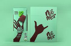 """New Logo and Packaging for NibMor by Pearlfisher 