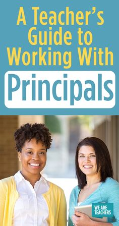 A veteran teacher shares seven secrets to working with principals, along with why your relationship with your principal matters, big time. Teaching Career, Teaching Time, Teaching Kindergarten, School Leadership, Educational Leadership, Educational News, We Are Teachers, First Year Teachers, High School Principal