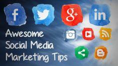 Awesome Social Media Marketing Tips