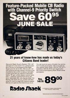 CB Radios from Radio Shack!