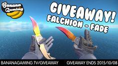 ★ Falchion Knife | Fade Giveaway