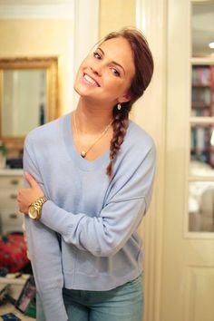Emilie Nereng Voeblogg Hairstyle