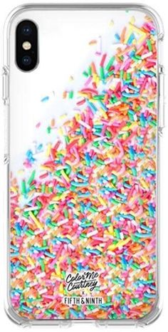 Fifth & Ninth Colorful Case for iPhone X