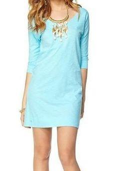 Lilly Pulitzer Eliza V-Neck T-Shirt Dress