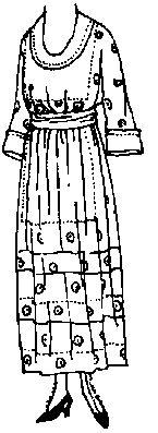 Past Patterns: #8211: Ladies' Dress: 1911 - 1914