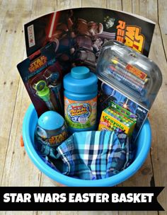 Christ centered easter basket ideas christian easter easter star wars theme easter basket disneyeaster ad negle Image collections