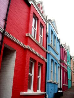 Colorful Houses@ Brighton