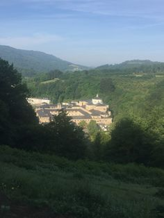 Samos where one of the oldest Benedictine monasteries which is one of the oldest and largest in Spain  Day 34 - Triacastela to Sarria   Camino de Santiago