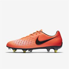 6d12fc04fa65 Nike Magista Opus II SG-PRO Anti Clog Traction (Total Crimson   University  Red