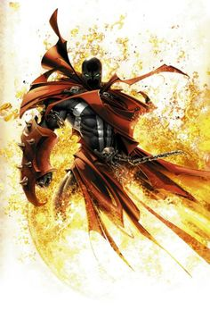 Spawn is just so dark and brutal i love his comic series. The HBO show was amazing also. I have a spawn tattoo on my right elbo Marvel Comics, Spawn Comics, Hq Marvel, Bd Comics, Anime Comics, Comic Book Characters, Comic Book Heroes, Comic Character, Comic Books Art