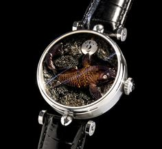 "Angular Momentum ""The Aquarium"" Luxury Watch - Spicytec"