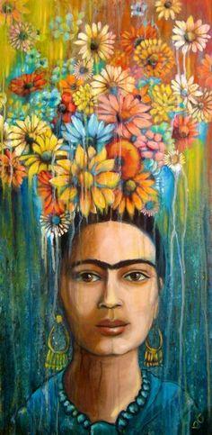 Flores Para Frida via the Phoenix Frida