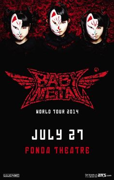 Japan's BABYMETAL Announce First Ever Los Angeles Headline Show