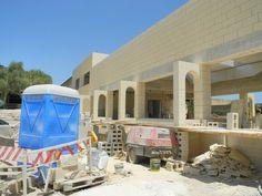 Udbygning af feriecenter 2012.
