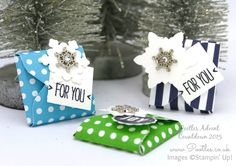 Pootles Advent Countdown 2015 #24 November Thank You Gifts Tutorial - YouTube
