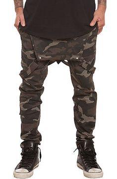 fd29b21e4590 Elwood Pants Anti Jogger Overalls Camo Green Green Joggers Mens