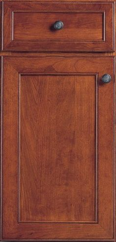 Door Styles: Cherry Edgewater - Visit Showroom in Columbus Ohio - Kitchen Kraft Inc, Kitchen Cabinets Remodeling. - Door Style : Edgewater  Door Type : Mitered  Finish : Fireside  Drawer : Paneled  Material : Cherry