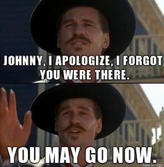 Doc Holliday from Tombstone.