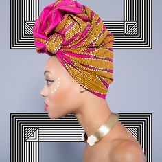 We Want These Ankara Print Head Wraps Right Now - COLOURES   Celebrating Beauty of All Shapes and Shades