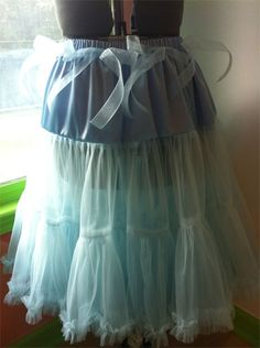 I've looked at a lot of pettiskirt tutorials, but I really like this one.