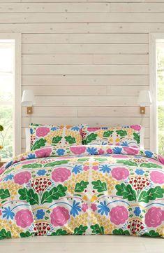 Stylish Beds, Marimekko, How To Make Bed, Comforter Sets, Duvet Cover Sets, Luxury Bedding, Bed Sheets, Comforters