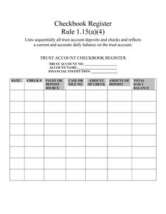 Free Blank Business Checkbook Register Template Excel PDF Example helps you in keeping yourself updates about your spending and daily expenses. Business Budget Template, Excel Budget Template, Budget Spreadsheet, Budget Worksheets Excel, Budgeting Worksheets, Printable Check Register, Main Idea Worksheet, Checkbook Register, Free Printable Puzzles
