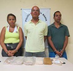 Seis quilos de drogas apreendidos em Feira de Santana | Arquivos Fatais