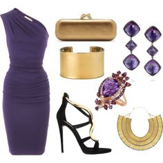 Purple speaks of class and sophisitication