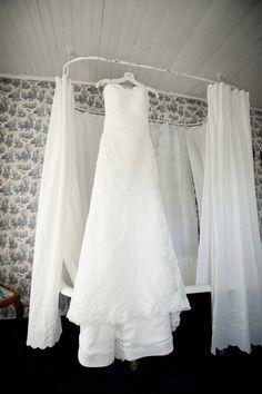 Simple White Wedding Dress