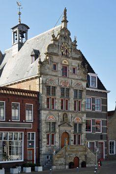 Brouwershaven (Zeeland) - Old town hall / Altes Rathaus / Ancien hôtel de ville