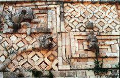 Los Mayas Uxmal (Yucatán, México). Cuadrilátero de las Monjas