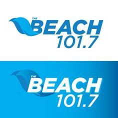 The Beach 101.7 - Concept Logo