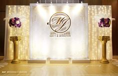 New Wedding Backdrop Stage Receptions Photo Booths Ideas Wedding Reception Backdrop, Wedding Stage, Ceremony Backdrop, Wedding Centerpieces, Diy Wedding, Wedding Decorations, Backdrop Design, Diy Backdrop, Backdrop Decorations