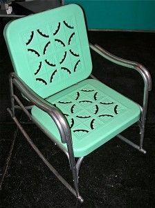 Retro Patio on Pinterest | Furniture, Metal Furniture and Retro