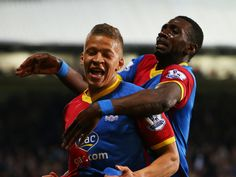 Dwight Gayle Crystal Palace - http://www.wallpapersoccer.com/dwight-gayle-crystal-palace.html