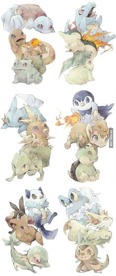 Pokemon generations