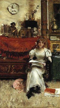 William Merritt Chase In the Studio (1884)