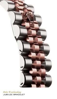 The Jubilee, a supple and comfortable five-piece link metal bracelet, was designed especially for the launch of the Rolex Datejust. #RolexOfficial